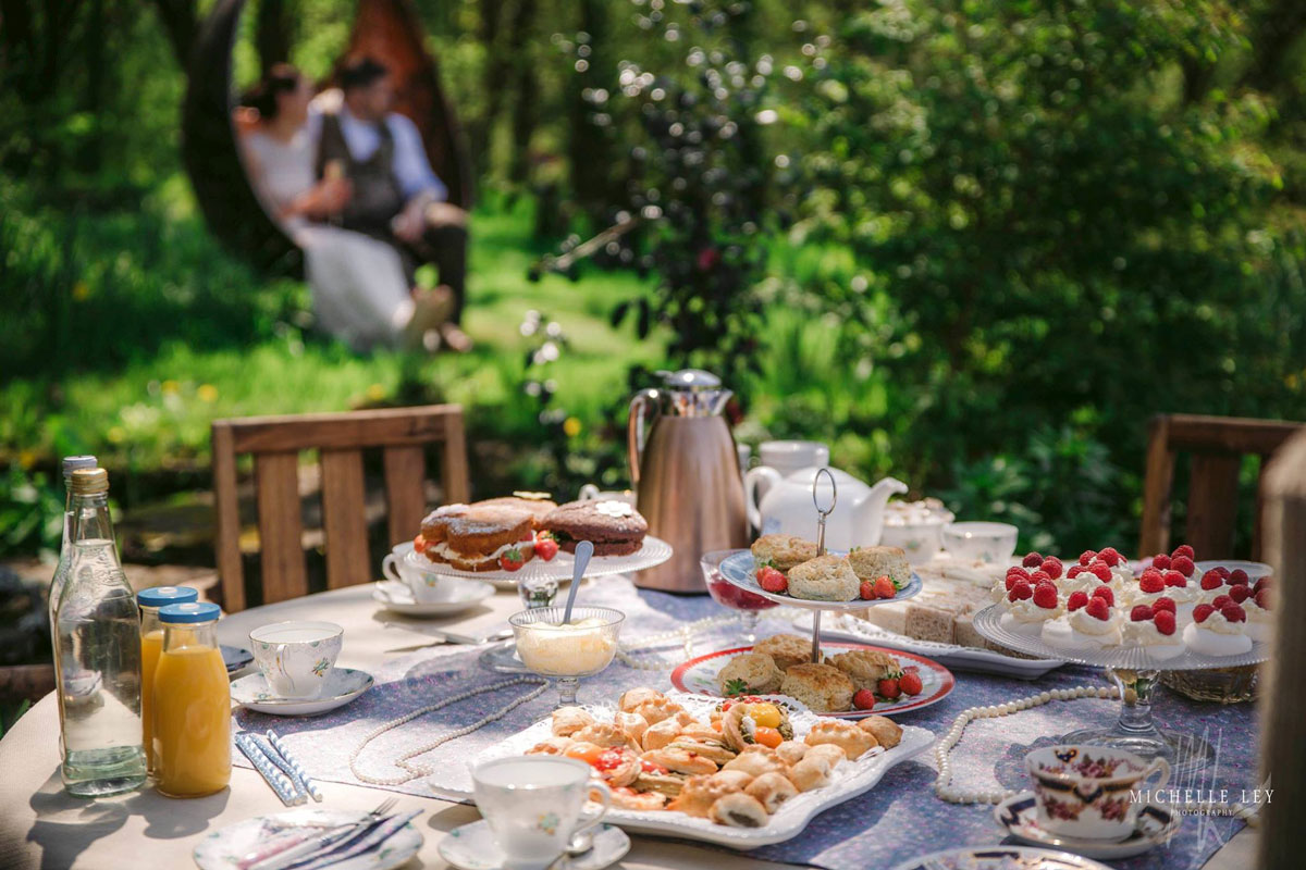 Cream Tea Wedding
