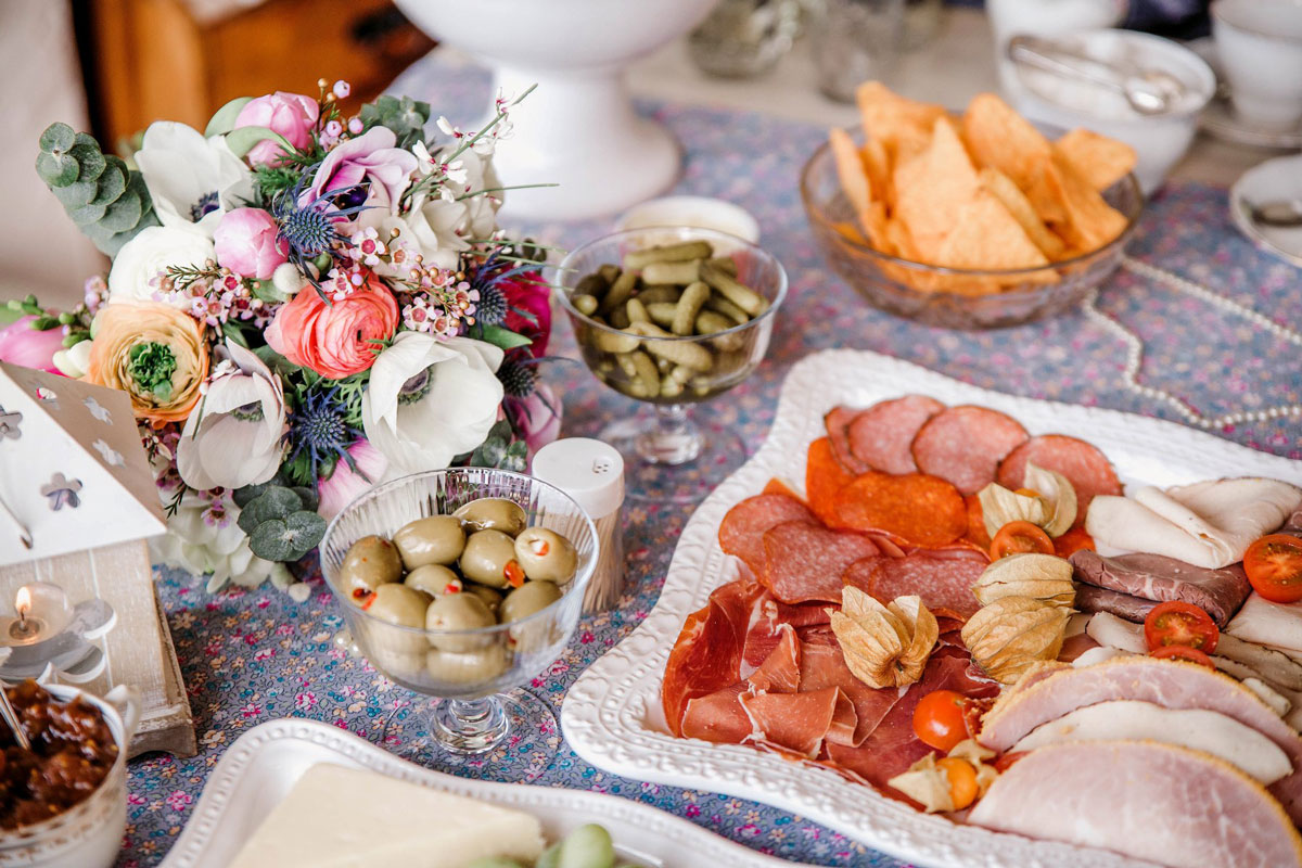 Elopement Wedding Tea